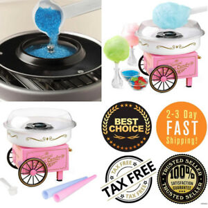 Nostalgia Cotton Candy Machine Maker Floss Carnival Party Suction Cup Feet Kids