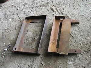 3 Farmall M Sm H Sh Tractor Ih Battery Box Holder Trays