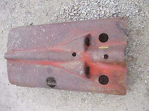 Farmall Ih H Hv Tractor Nice Original Early Ihc Engine Motor Hood Cover W Clips