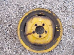 Allis Chalmers Wd 45 Wd45 Tractor 4 X 16 Front Ac Pressed Rim To Use