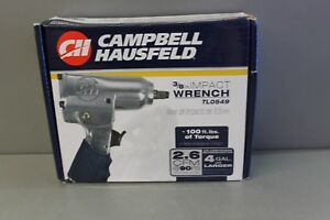 Campbell Hausfeld Ch 3 8 Inch Air Impact Wrench Tl0549