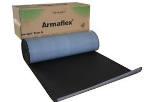 50 Mm 4m2 Roll Armaflex Closed Cell Foam Insulation Self Adhesive Car Sound
