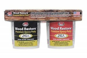 J b Weld 40006 Wood Restore Premium Epoxy Putty Kit 32 Oz