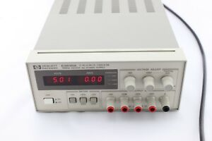 Hp E3630a 0em Triple Output Dc Power Supply 6v 2 5a 20v 0 5a Agilent C