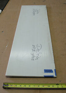 3 8 X 12 X 41 Natural Color 20 Glass Filled Delrin Plate Block Sheet