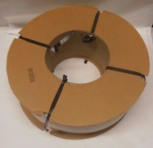 1 Roll 1 4 By 0 020 Clear Embossed Strapping Tape 8 By 8 Core New e5