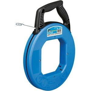 Ideal Blued-steel Fish Tape, 240ft
