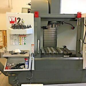 2016 Haas Vm2 4th Ready Rigid Tap Chip Aug Wips Low Hours