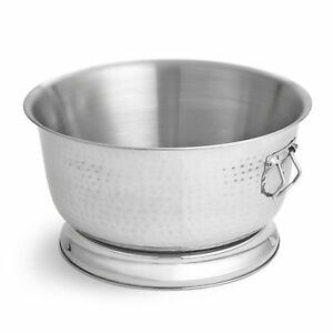 Artisan Double Wall Stainless Steel Beverage Chiller Ice Tub 17 Qt