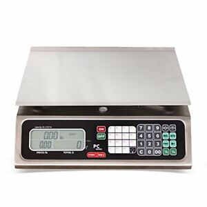 Torrey Pc80l Electronic Price Computing Scale Rechargeable Battery Stainless S