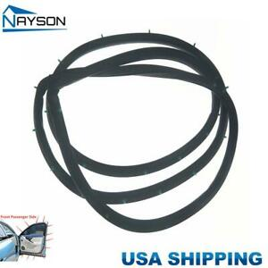Replacement Door Rubber Seals Weather Strip Front Right For Accord Sedan 94 97