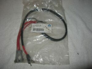Nos Mopar 1970 74 B E Body Small Block Positive Battery Cable