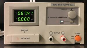 Mpja 9313 ps Dc Regulated Power Supply 0 120v 0 3a