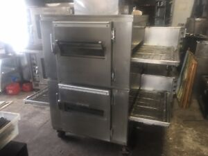 Lincoln 1000 Double Stack Conveyor Pizza Oven