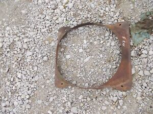 John Deere B Rax Tractor Jd Nice Original Radiator Fan Shroud Guard