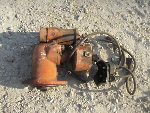 Farmall H M Ih Tractor Engine Motor Up Right Distributor W Drive Assembly Core