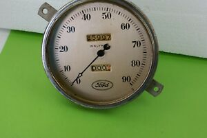 Vintage 1933 1934 Ford Speedometer Waltham Rat Rod
