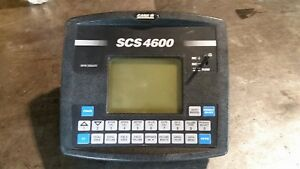 Raven Scs 4600 Rate Controller Labeled Case Ih