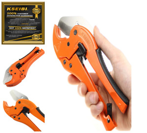 Pvc Pipe Plumbing Tube Cutter Pliers Tool 1 8 inch 1 5 8 inch Ratcheting Quick