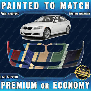 Painted To Match Front Bumper Cover Replacement For 2009 2012 Bmw 323i 328i 335i