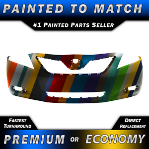 New Painted To Match Front Bumper Cover Replacement For 2007 2009 Toyota Camry