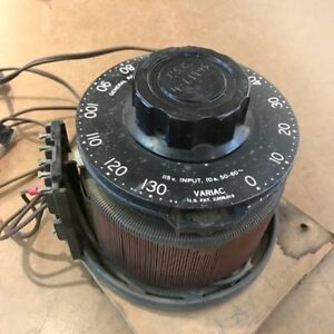 General Radio Company Variac Type V10 Variable Voltage Supply