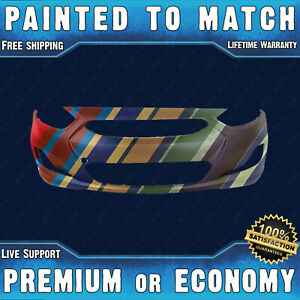 New Painted To Match Front Bumper Cover Fascia For 2012 2013 Hyundai Accent