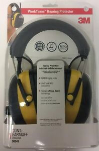 3m Worktunes Hearing Protector 90541 Radio