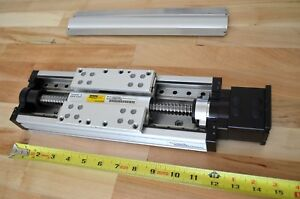12 Parker 404xr Linear Actuator Precision Ground Ballscrew Nema23 Cnc Z axis