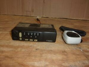 Motorola Radius M1225 M44dgc90e2aa Mobile Two way Radio See Notes