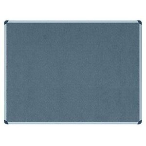Office Depot Felt Notice Board Aluminium Frame Grey 600 X 900 Mm