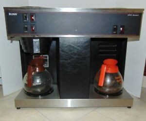 Bunn Coffee Maker Vps Black With Glass Carafes