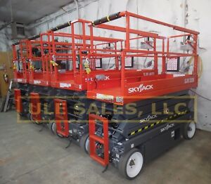 2018 Skyjack Sj3226 Electric Scissor Lift 0 Hr In stock Read Item Description