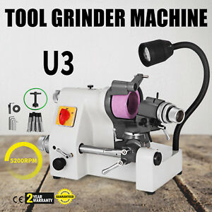 U3 Universal Tool Cutter Grinder Machine 5 Collets Double Bearing Lathe Tool