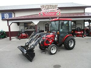 Tym T234 Tractor Loader Cab With Heat