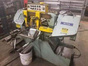 Peerless Hb 711a 10 Automatic Horizontal Band Saw
