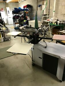 Screen Printing System Used 770 Series Printa Systems