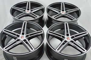 18 Wheels Rims Fusion Mustang Mks Avenger Eclipse Accord Camry Avalon Tl 5x114 3