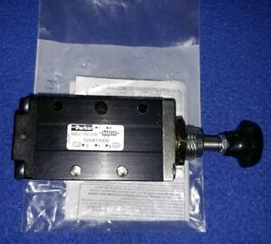 Parker 1 4 Manual Air Control Valve With 4 way 2 position Air Valve Type