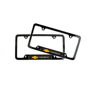 2pcs Illest Bride Racing Abs Plastic License Plate Frame For Honda Civic Accord