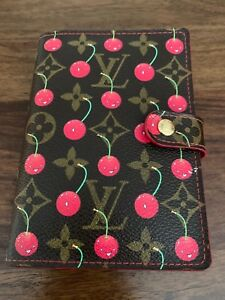 Louis Vuitton Monogram And Cherry Small Ring Agenda Cover planner address Book