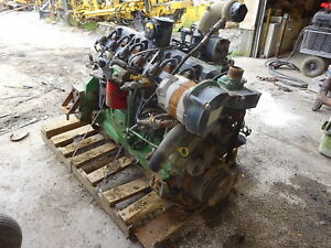 John Deere 6081 Ng Complete Core Engine 2 Avail Natural Gas Lpg 8 1