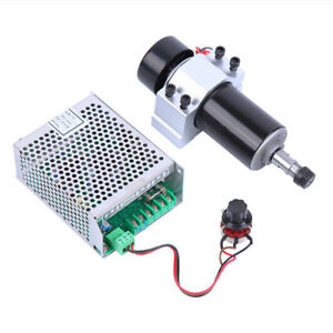 Ac110v 220v Cnc 500w Air Cooling Spindle Motor Speed Controller High Efficiency