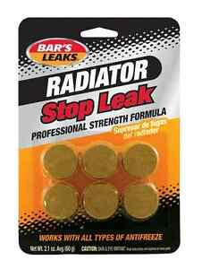 Bar s Leaks Hdc Radiator Stop Leak Tablets Heavy Duty