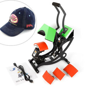 4in1 T shirt Hat Plate Cap Heat Press Machine Sublimation Printing Transfer Usa