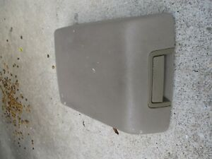 2004 2008 Ford F 150 F150 Center Console Lid Arm Rest Tan Oem Armrest 04 05 06