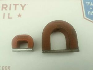 Magnets Alnico Horseshoe Power Alnico Magnet Lot Of 2 General Tool