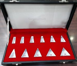 Loose Prism Bars Set Of 11 Prisms For Ophthalmology Optometry Equipment