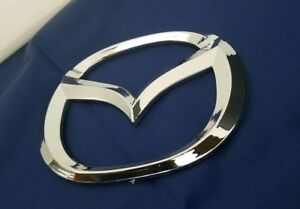 D Logo Fit Mazda 3 Back Trunk Emblem Rear Round Mazda3 03 Up 2010 2011 2012 2013