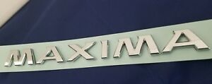 Sep Fit Nissan Maxima Rear Trunk Badge Nameplate Letters Emblem 12 13 14 15 18